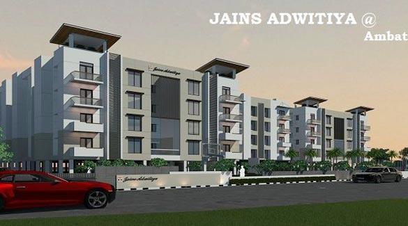 Jains Adwitiya, Chennai - Residential Apartments