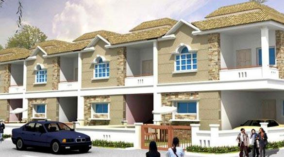 Golden County, Hyderabad - villas project
