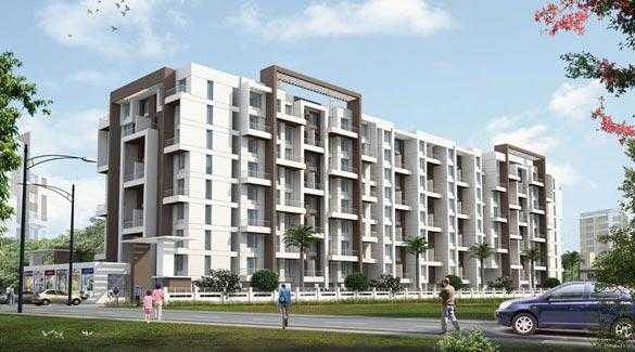 Serene Homes, Pune - 1,2 BHK Flats