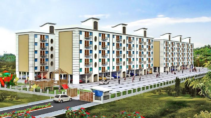 Moon City, Jamshedpur - 2 & 3 BHK Apartments