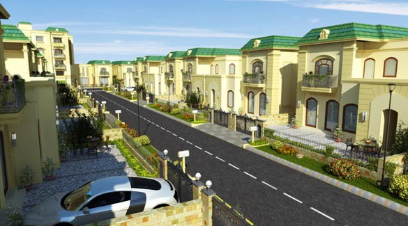 Shalimar Paradise, Lucknow - Luxurious Residences