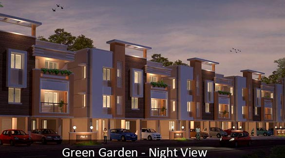 Green Garden, Chennai - 2,3 BHK Flats