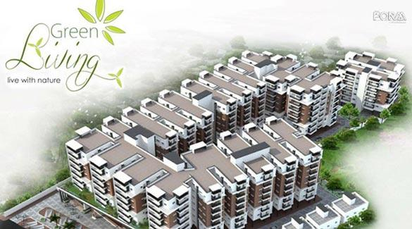 Gowra Green Living, Hyderabad - 3 BHK Flats