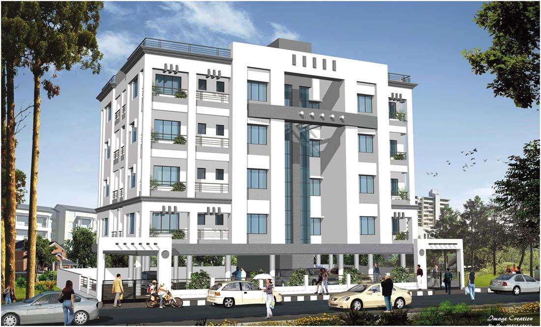 Konaark Castle, Nagpur - 2 BHK Apartments