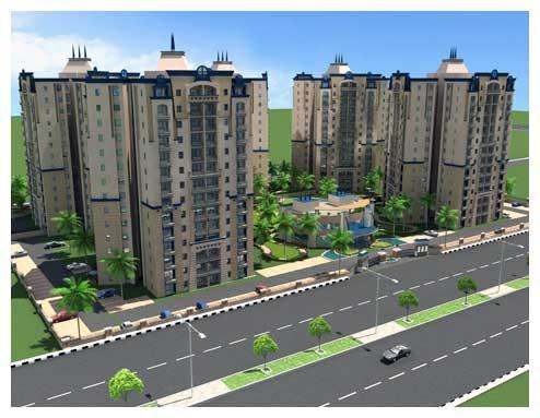 Ashiana Palm Court, Ghaziabad - 3 BHK Residential Apartments