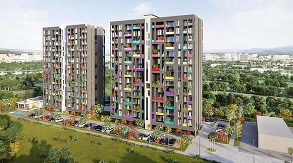 Florida Watercolor, Pune - 2 & 3 BHK Apartments