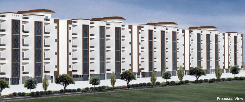 SRS Affordable Group Housing, Faridabad - 2 BHK Residential Flats