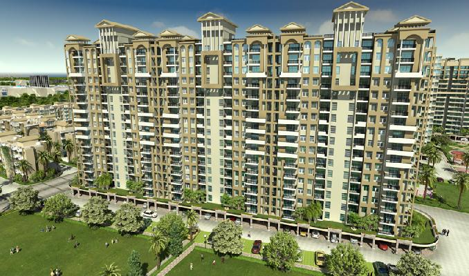 SRS Pearl Heights, Faridabad - 2 BHK + Study Apartments