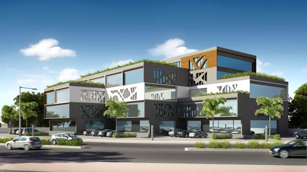 Dream House, Vadodara - Show Room & Office for Rent