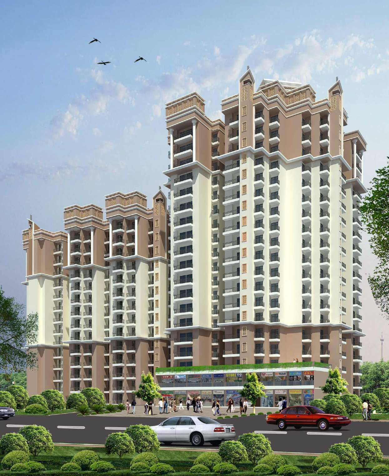 Indosam 75, Noida - 2, 3 & 4 BHK Apartments for sale