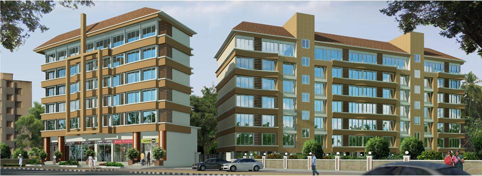 Kamat Construction Pvt Ltd La Campala Complex, Panaji, Goa - Kamat Construction Pvt Ltd La Campala Complex