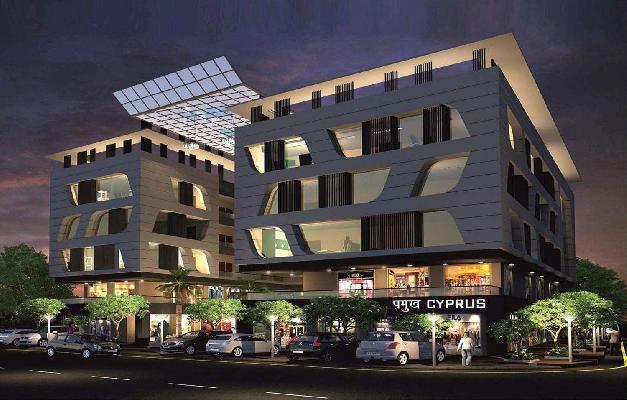 Pramukh Cyprus, Gandhinagar, Gujarat - Commercial Shops & Showrooms