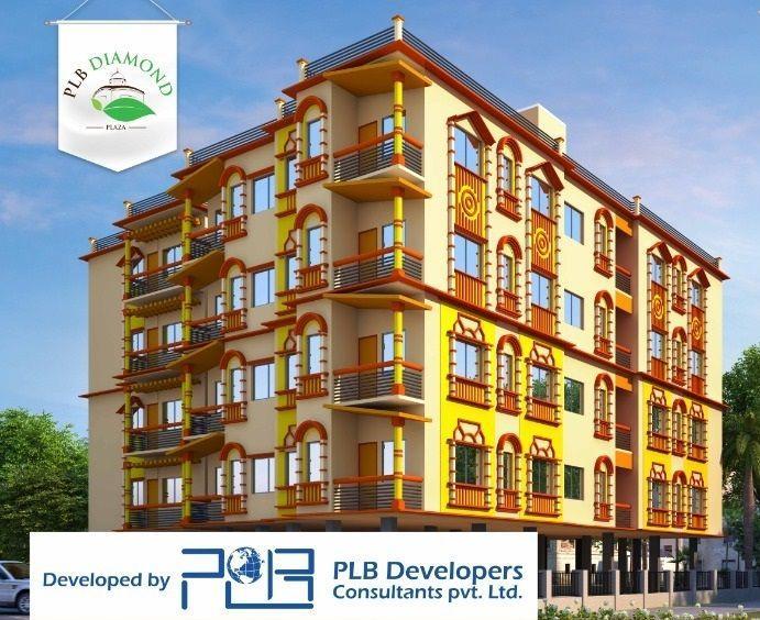 PLB Diamond Plaza, Bankura - 1/2/3 BHK Flats