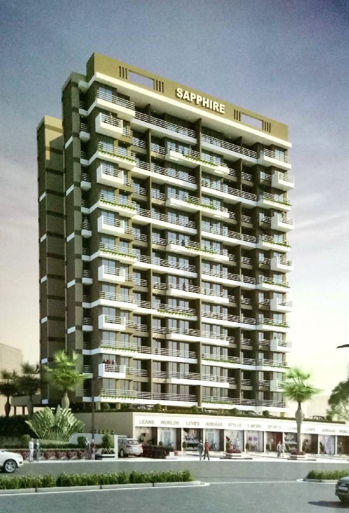 Radiant Sapphire, Navi Mumbai - 1BHK & 2BHK Apartments