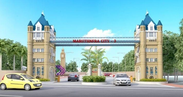 Maruti Infra City 3, Raipur - Residential Colony