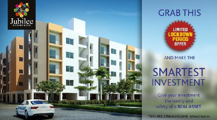 Urbanrise Jubilee Residences, Chennai - 1/2/3 BHK Apartments