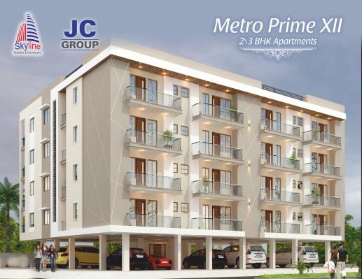Metro Prime 12, Jaipur - 2/3 BHK Apartment