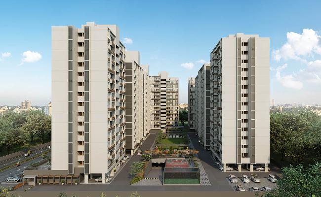 Sun South Rayz, Ahmedabad - 2/3 BHK Apartment