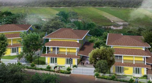 Eugenia Evergreens, Goa - 4 Bedrooms Apartments