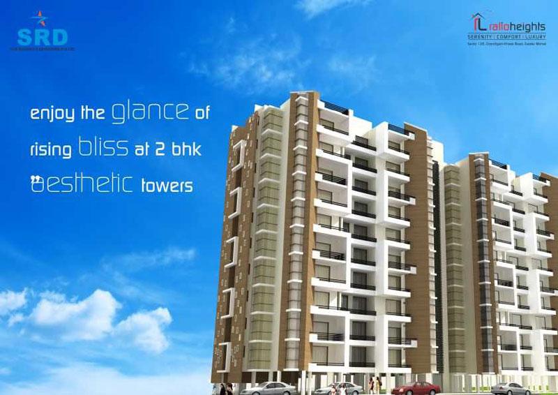 Ralio Heights, Mohali - 2/3 BHK Luxury Apartments