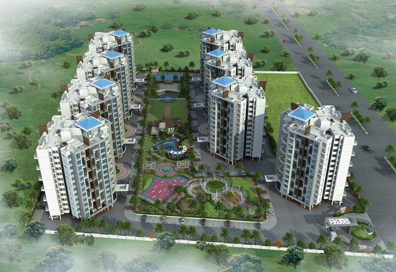 Skylights, Pune - 1, 1.5 & 2 BHK Residential Apartments
