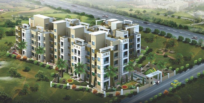 Sai Park, Navi Mumbai - 4 Storeyed Residential Complex