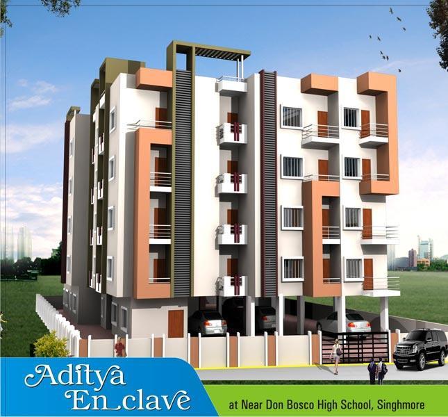 Aditya Enclave, Ranchi - 3 BHK Residential Apartments