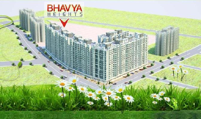 Bhavya Heights, Virar - 15 Storey Residential Towers with Shopline
