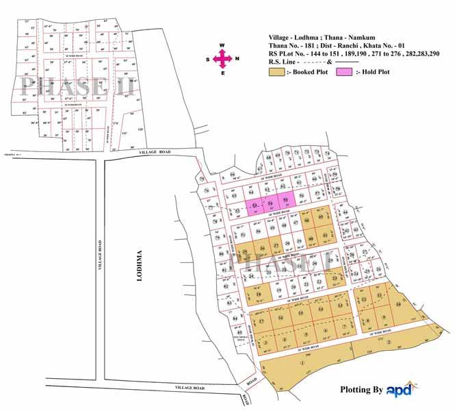 Lodhma, Ranchi - Residential Plots