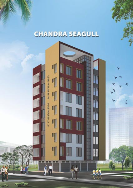Chandra Seagull, Jamshedpur - 2/3 BHK Apartments
