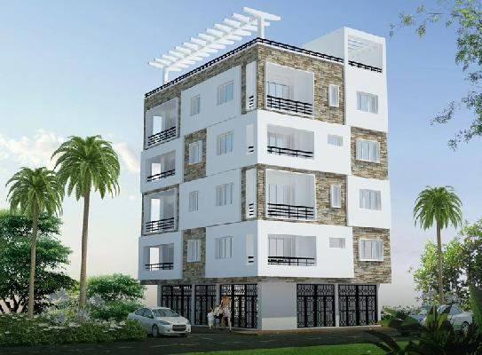 Chandra Palm Courts, Jamshedpur - 3 BHK Apartments