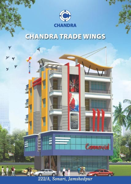 Chandra Trade Wings, Jamshedpur - 3 BHK Apartments