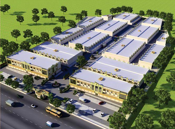Golden Industrial Estate, Gandhinagar, Gujarat - Industrial Sheds and Commercial Complex