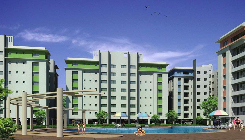 Natural City, Kolkata - Residential Apartments