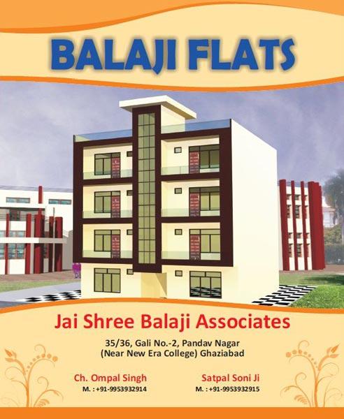 Balaji Flats, Ghaziabad - Residential Flats