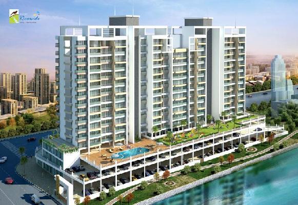 Shelter Riverside, Navi Mumbai - 1/2/3 BHK Apartments & Shops