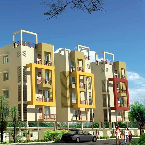 Basera Fesco Sijua, Bhubaneswar - Residential Flats