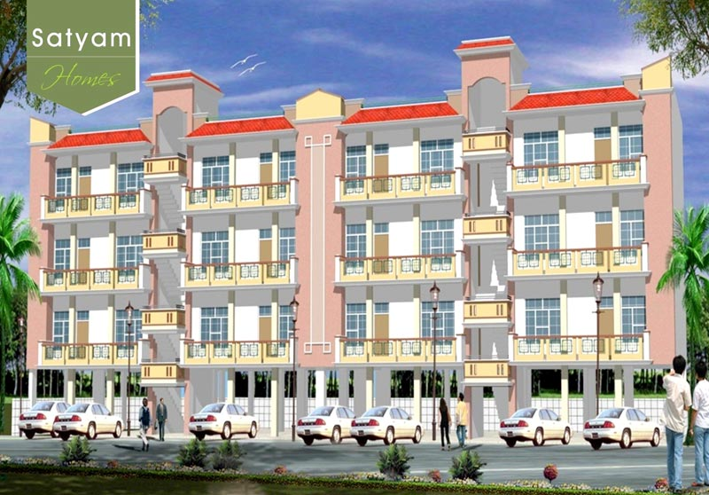 Satyam Homes, Greater Noida - 1 BHK Residential Flats
