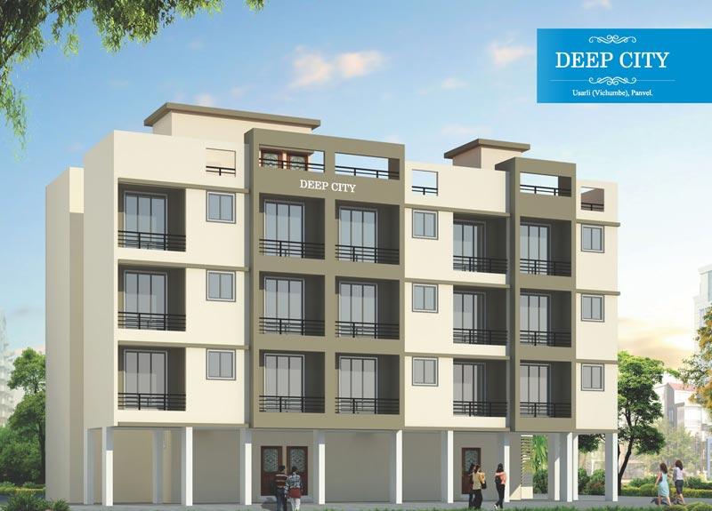 Deep City, Navi Mumbai - 1RK, 1/2 BHK Residential Apartments