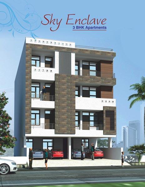 Sky Enclave, Jaipur - 3 BHK Apartments