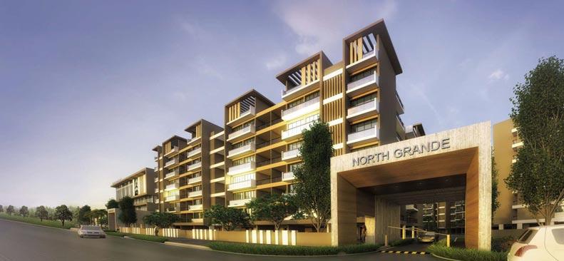 North Grande, Kolkata - 2/3/4 BHK Residences