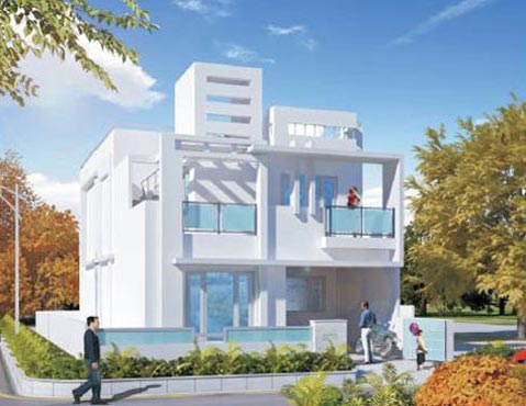 White House I & II, Kashipur - Row Housing / Independent House