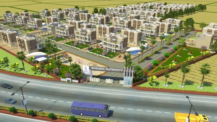 Dholera Metro City-1, Ahmedabad - Residential Plot & Villa