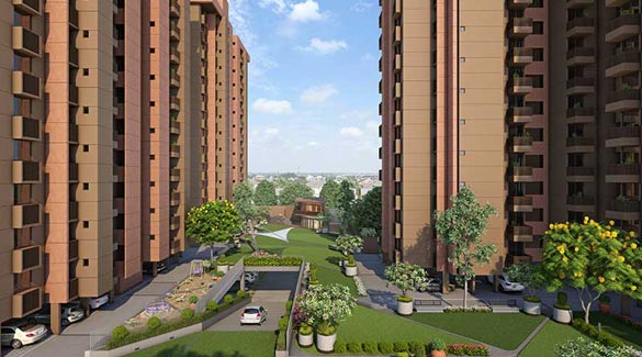 Sun South Park, Ahmedabad - 3BHK Spacious Apartment