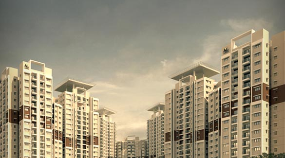 Prestige Sunrise Park, Bangalore - Luxurious Apartments