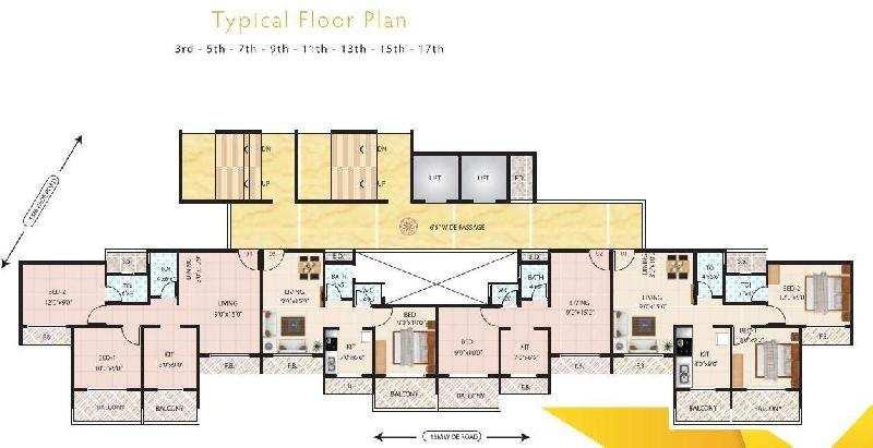2 BHK Flats & Apartments for Sale in Taloja, Navi Mumbai - 1200 Sq. Meter