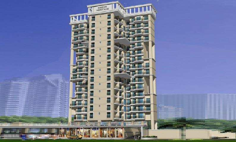 2 BHK Flats & Apartments for Sale in Roadpali, Navi Mumbai - 1500 Sq. Meter