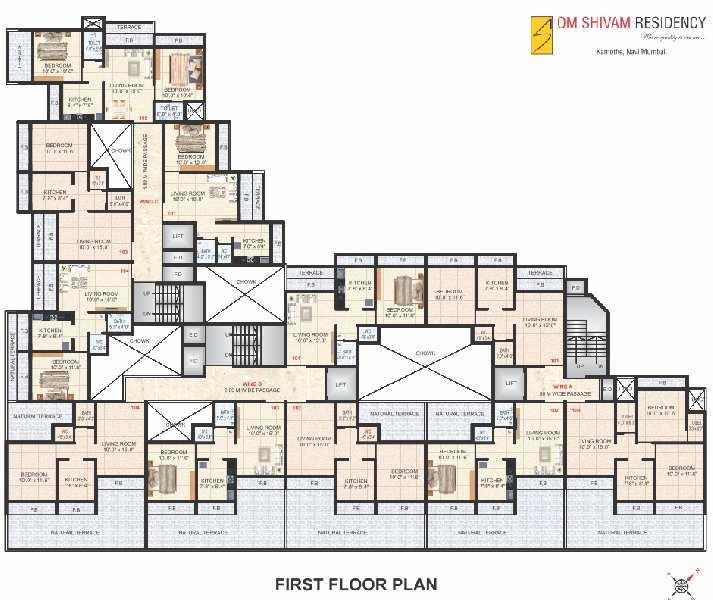 1 BHK Flats & Apartments for Sale in Maharashtra - 1420 Sq. Meter