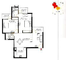 2 BHK Flat for Rent in New Faridabad, Faridabad