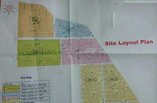 Residential Plot for Sale in Nagram Road, Lucknow - 1000 Sq. Feet